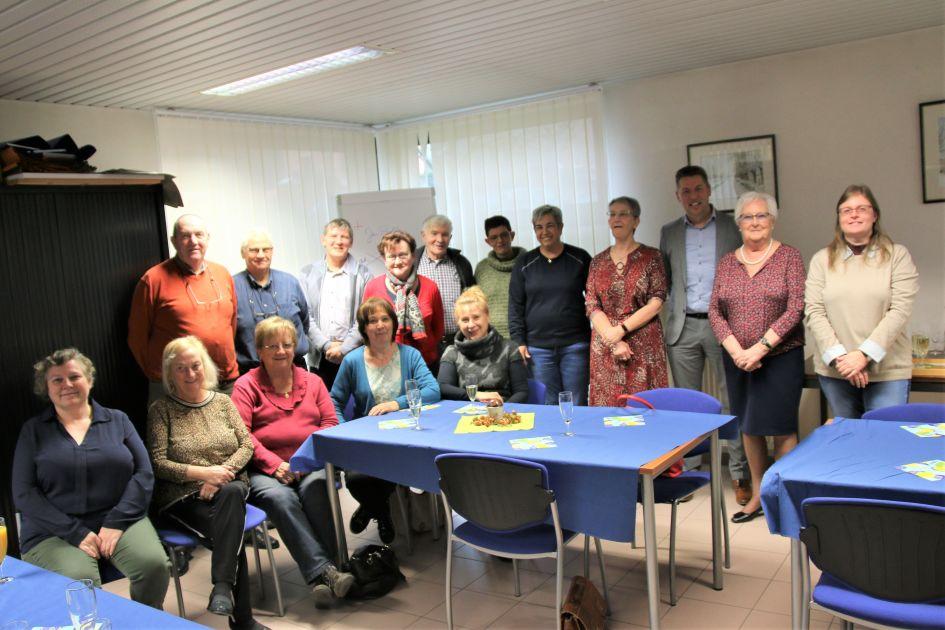 OCMW Herne bedankt haar vrijwilligers - Persinfo.org