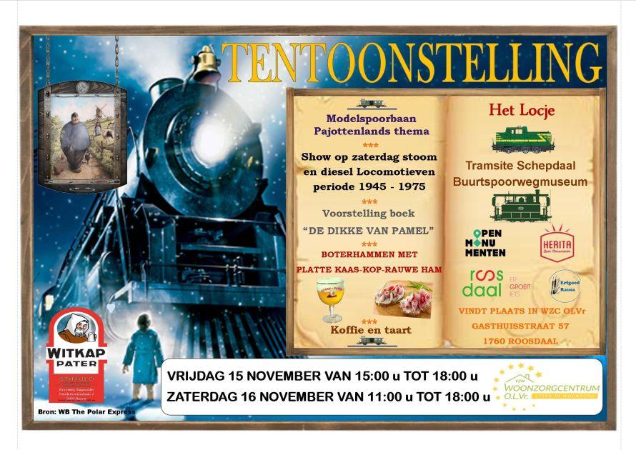 Miniatuurtreintjes in WZC OLVr Roosdaal. - Persinfo.org